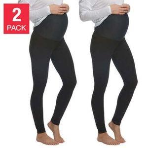 Felina Ladies' Maternity Leggings, 2-pack